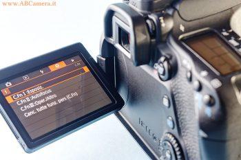 una moderna reflex Canon