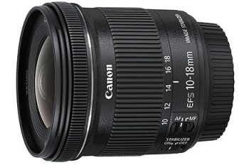 Canon EF-S 10-18-mm f/4,5-5,6 IS STM