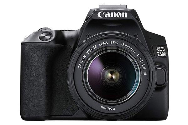 Canon EOS 250d: la reflex più compatta sul mercato