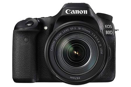 Canon EOS 80D con obiettivo 18-135mm
