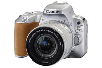 """Versione """"Silver"""" della Canon EOS 200D"""