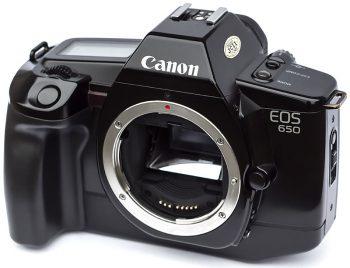 canon eos 650 del 1987