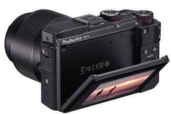 retro della Canon Powershot G3X