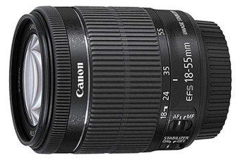 Obiettivo Canon EF-S 18-55 f/4-5,6 IS STM