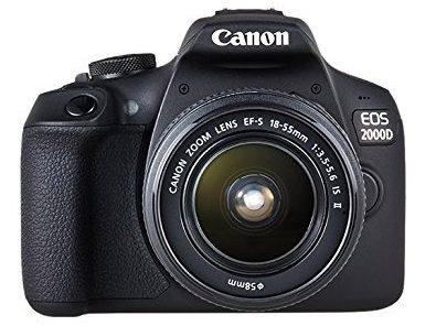 fotocamera reflex canon eos 2000d
