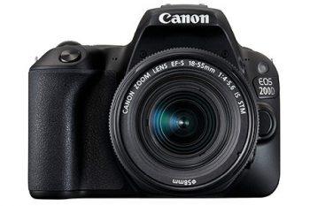 Canon EOS 200D reflex oggetto della recensione