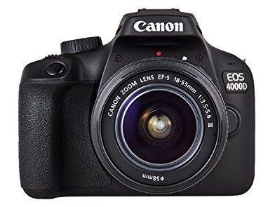 Canon EOS 4000d: la reflex per principianti più economica