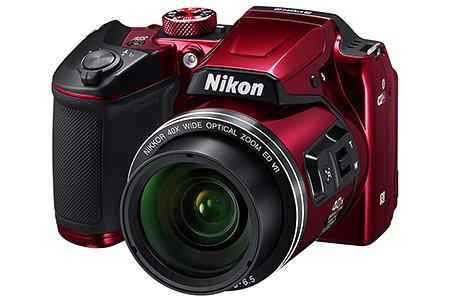 nikon coolpix b500 versione rossa