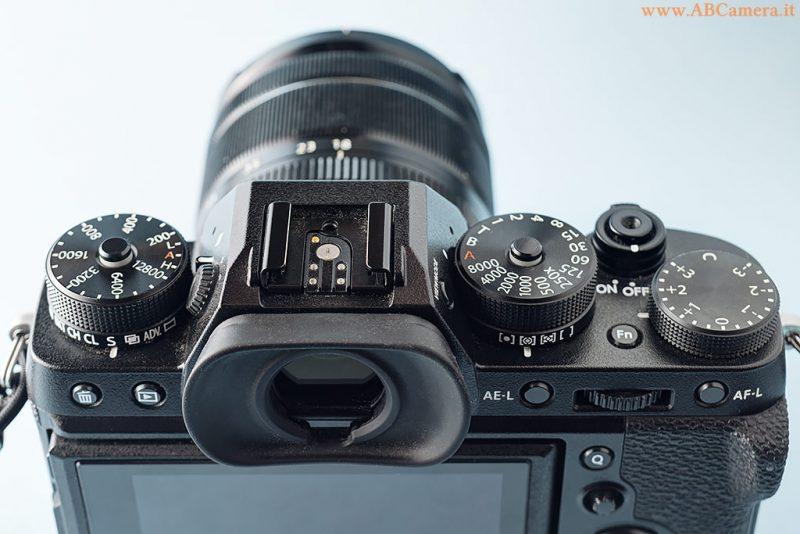le ghiere fisiche della Fujifilm X-T2