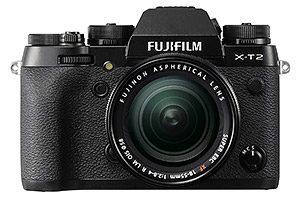 Fujifilm X-T2 con obiettivo 18-55mm f/2,8-4