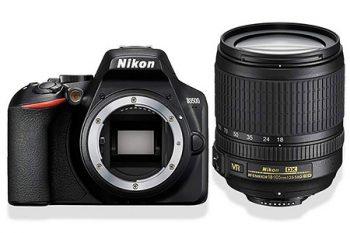 Nikon D3500 con obiettivo 18-105mm VR