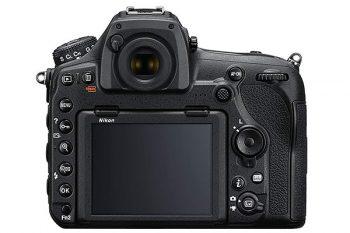 Nikon D850 display