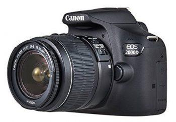 Canon EOS 2000D Opinioni