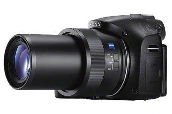 Sony hx400v con lo zoom alla massima estensione