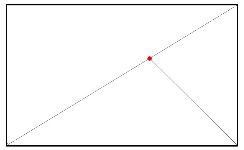 sezione aurea fotografia triangolo