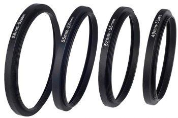 anelli adattattori per i filtri fotografici
