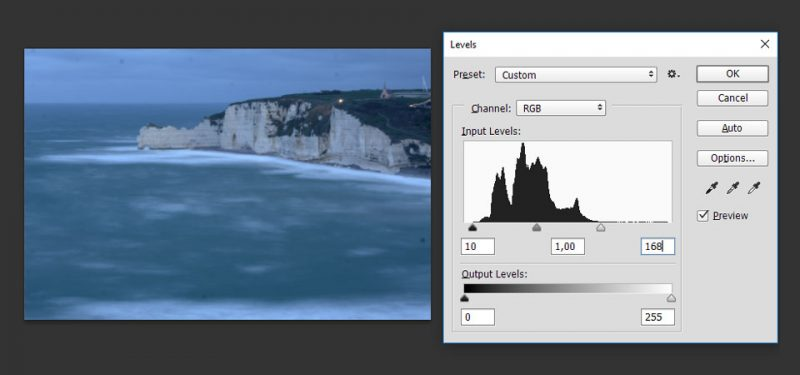 aumentare luminosità photoshop con Valori Tonali
