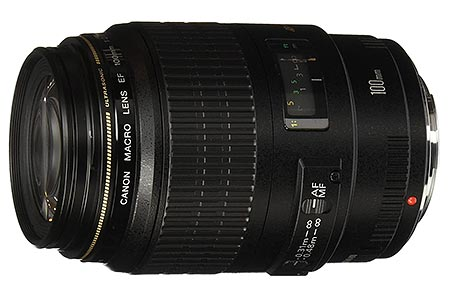 obiettivo Canon 100mm f/2,8 USM Macro