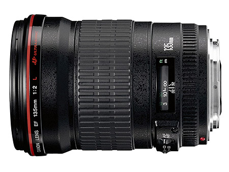 Obiettivo per ritratti Canon EF 135mm f/2 L USM