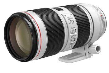Teleobiettivo Canon Seire L EF 70-200 IS USM f/2,8 II