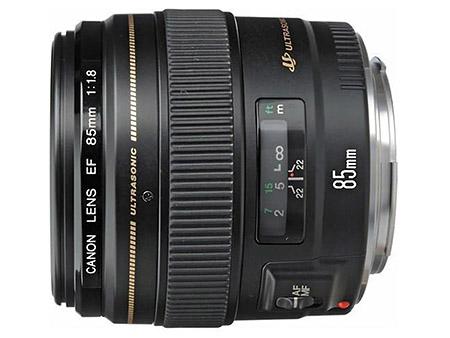 Obiettivo Canon EF 85mm f/1,8 USM