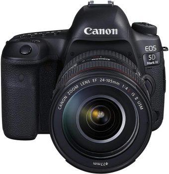 Reflex Canon EOS 5D Mark IV (fotocamera professionale)