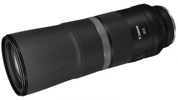 Obiettivo Canon RF 800mm f/11, supertele per fotocamere mirrorless full frame
