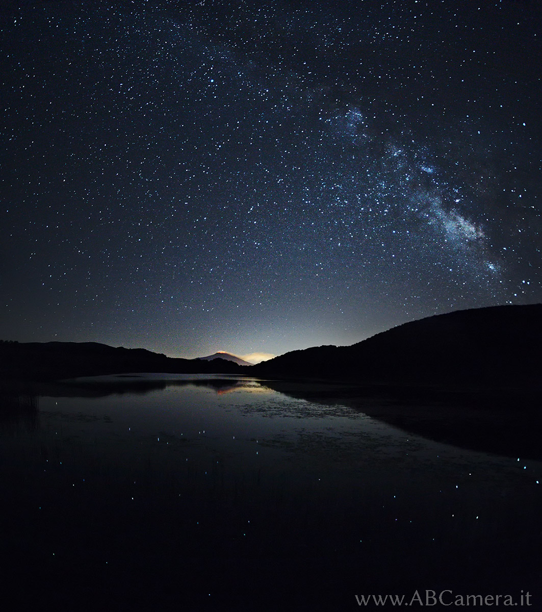 Foto delle stelle e della via lattea