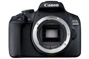 Recensione della Canon EOS 2000d