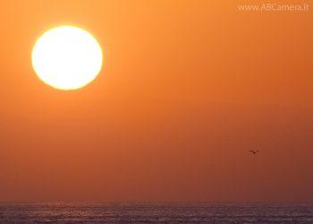 fotografare tramonti con teleobiettivo