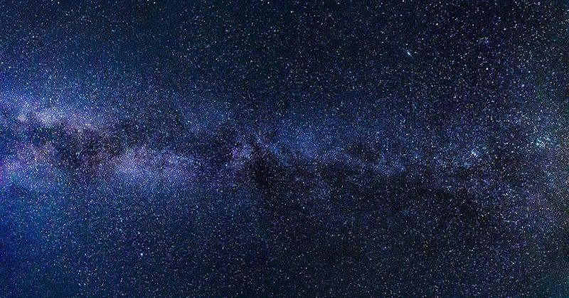 fotografia del cielo stellato