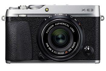 La Fujifilm x-e3, una delle migliori fotocamere mirrorless del momento