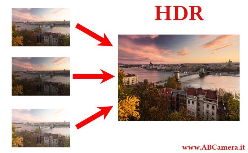 il bracketing è fondamentale per realizzare HDR