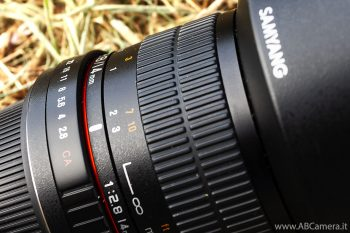 samyang 14mm impostato sulla distanza iperfocale
