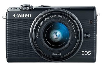La Canon EOS m100 una delle mirrorless più economiche