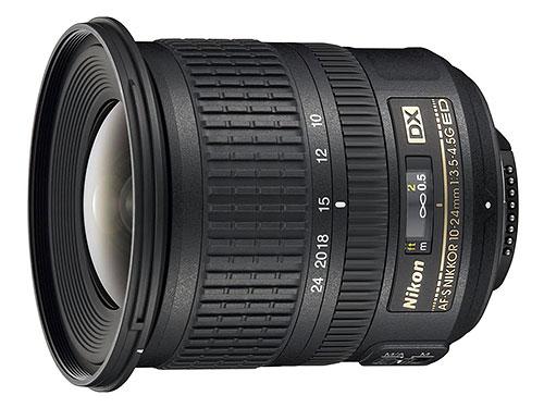 obiettivo grandangolare Nikon 10-24mm