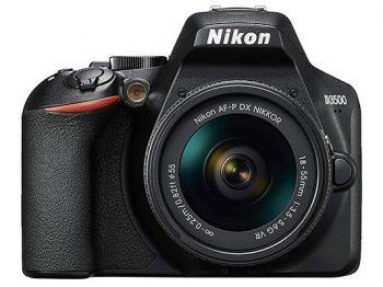 Nikon D3500 con obiettivo 18-55mm VR