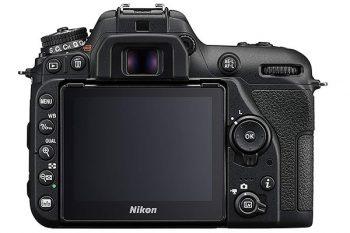 schermo della Nikon D7500