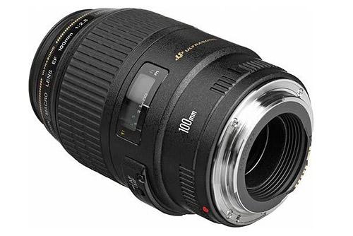 obiettivo macro Canon EF 100mm f/2,8