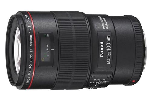 obiettivo macro Canon EF 100mm f/2,8 serie L