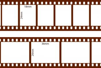 pellicola 35mm utilizzata per riprese cinematografiche e fotografia analogica