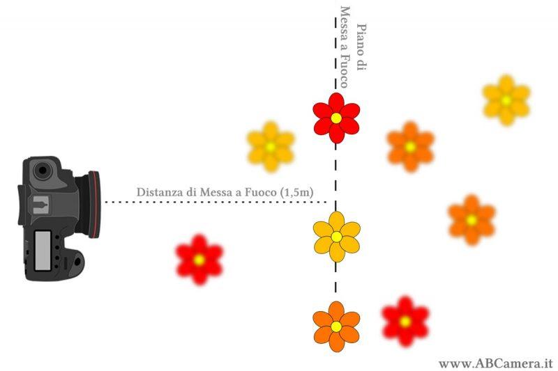 distanza e piano di messa a fuoco