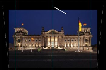 scalare immagine in verticale con photoshop