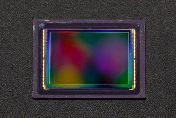 sensore di una fotocamera digitale
