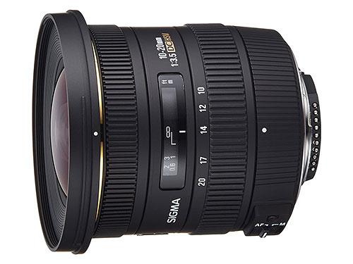 grandangolo per Nikon Sigma 10-20mm