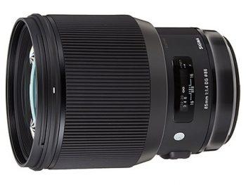 Sigma 85mm f/1,4, obiettivo da ritratto per full frame