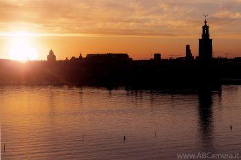 Fotografare tramonti con effetto silhouette