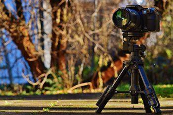 fotocamera treppiede